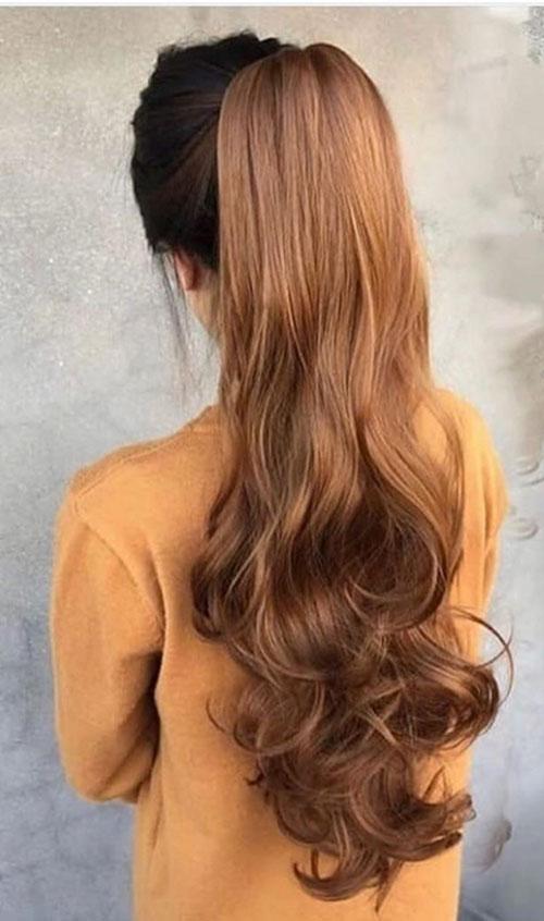 Hair Ponytail For Long Hair