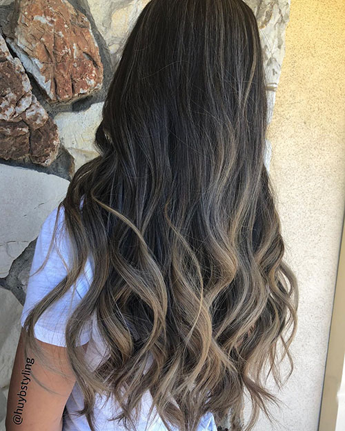 Long Haircuts With Highlights