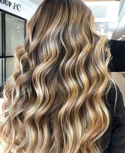 Balayage Long Hair Price