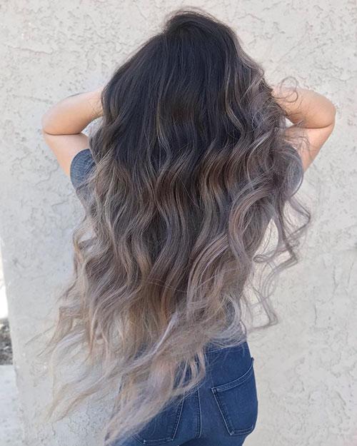 Ombre Hair On Long Hair