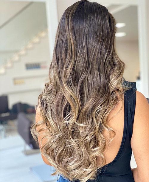 Ombre Hair Long Hair