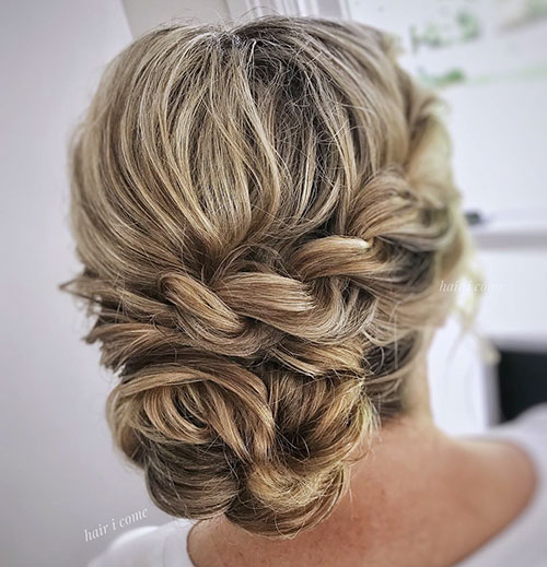 Updo Styles For Long Locs