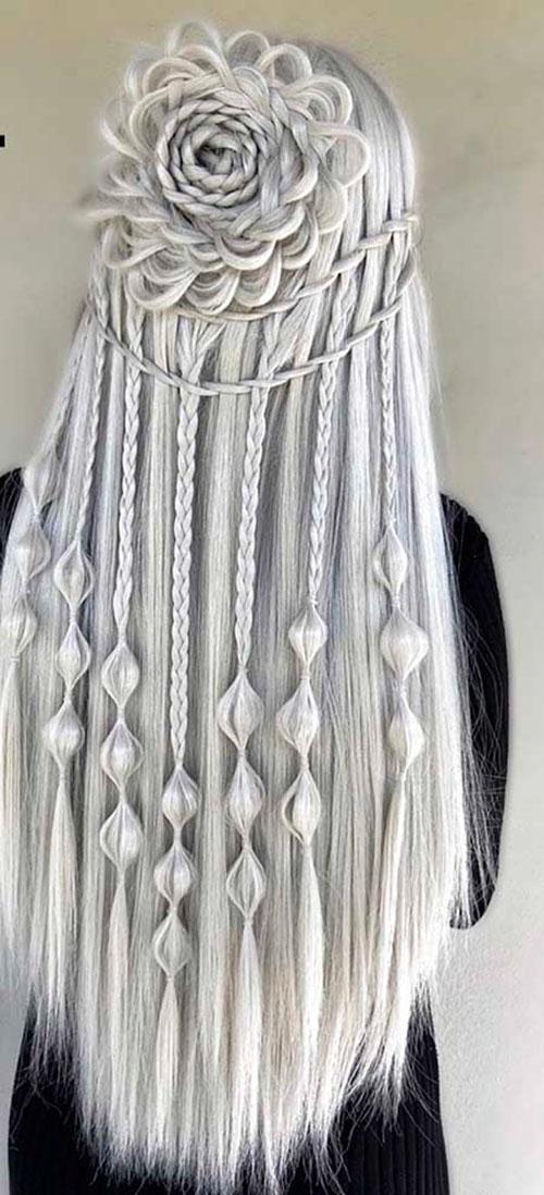 Long Braid Styles