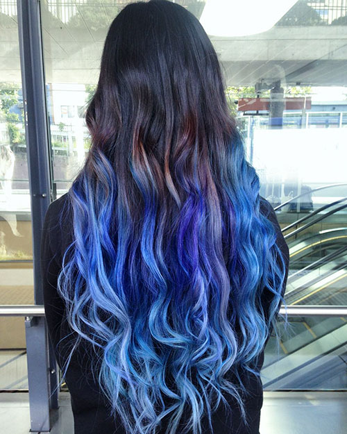 Ombre Images Long Hair