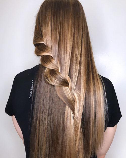 Balayage Long Hair Brown