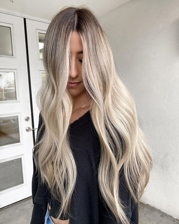 Long Thin Hair Pictures