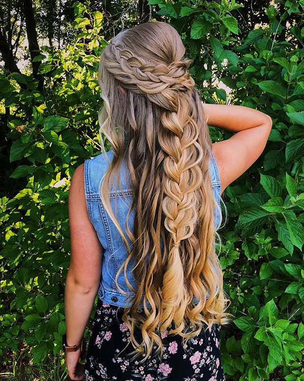 Long Hairstyles For Prom 2020