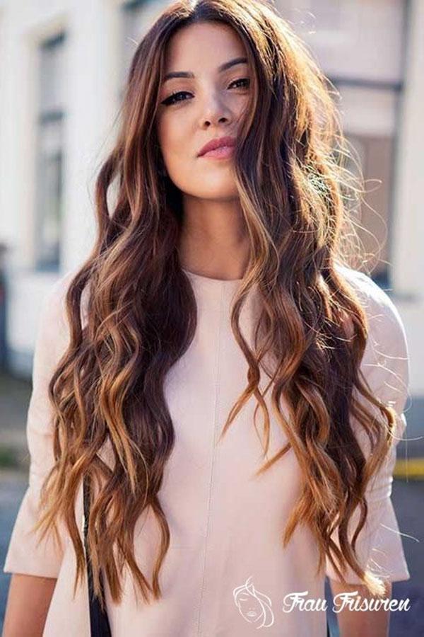 Long Brown Hairstyles 2020