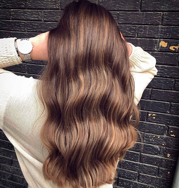 Super Long Brown Hair