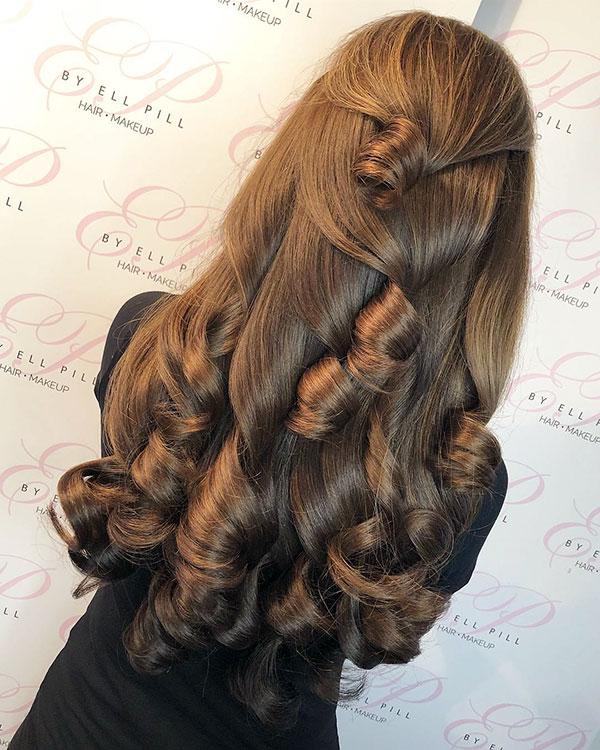 Long Brown Hair Ideas