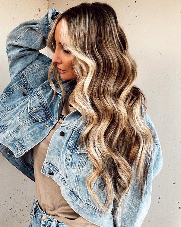 Pics Of Long Balayage Hair