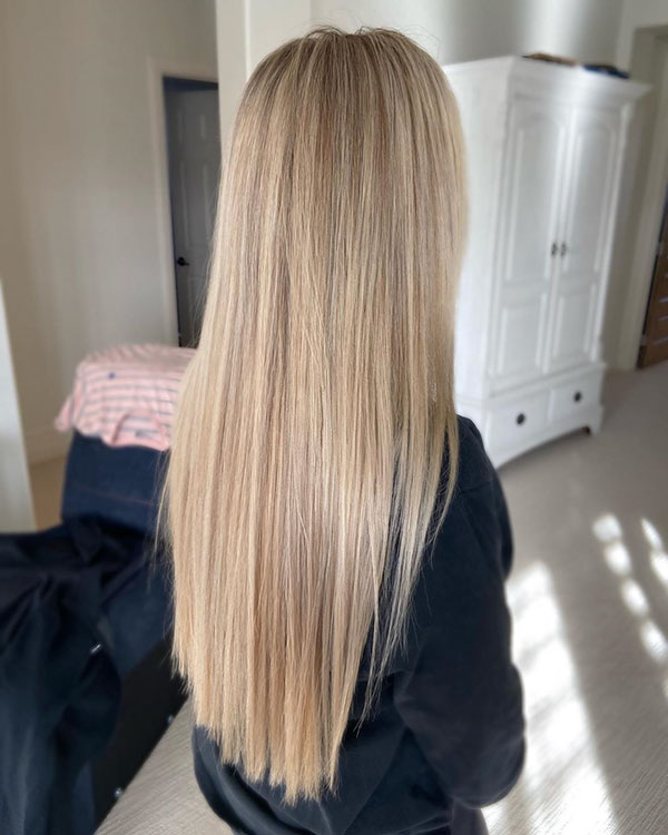 Long Straight Hair Images