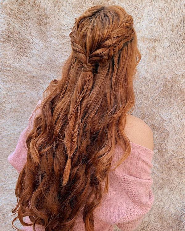 Romantic Long Hairstyles 2020