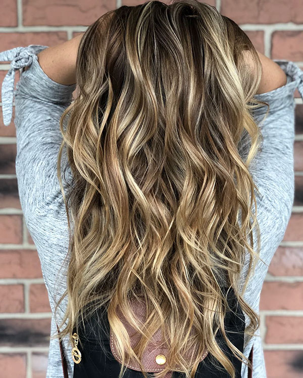 Balayage Long Hairstyles