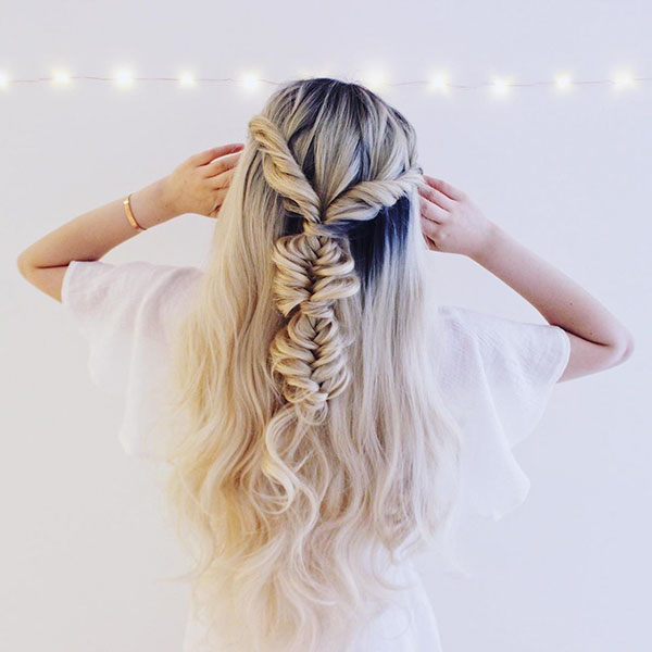 Romantic Hairstyles For Long Hair