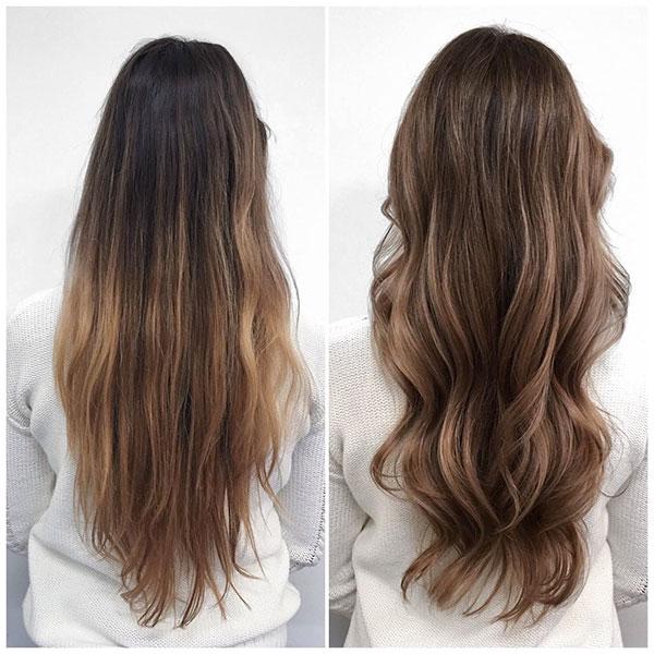 Highlights For Long Hair