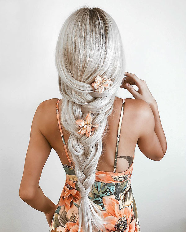 Romantic Ideas For Long Hair