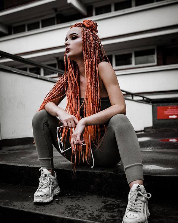 Images Of Long Braids