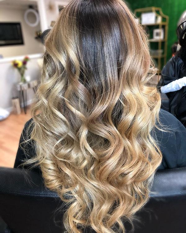 Hairstyles For Long Balayage Hair