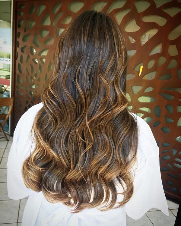 Long Hair And Highlights 2020