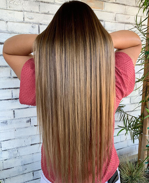 Pictures Of Long Straight Hair