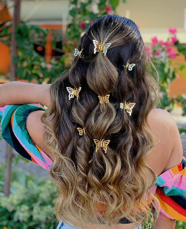 Pictures Of Romantic Hairstyles For Long Hair