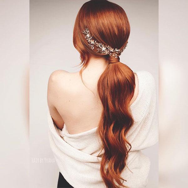 Romantic Hairdos For Long Hair