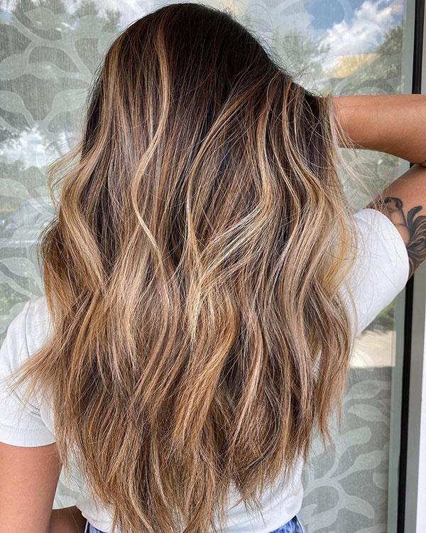 Beautiful Long Balayage Hair