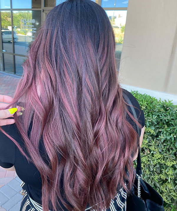 Long Hair Pictures With Highlights