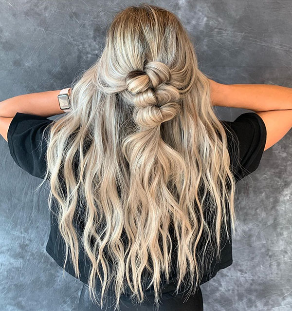 Romantic Long Hair Ideas