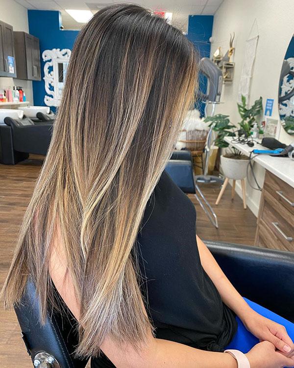Long Straight Hair Ideas