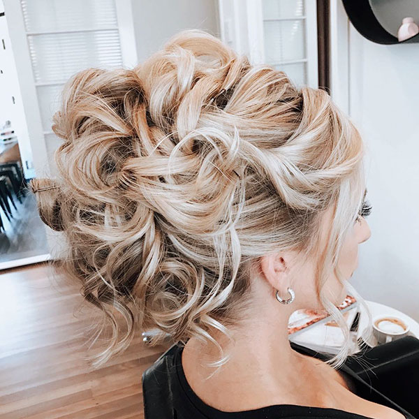 Examples Of Long Bridal Hairstyles
