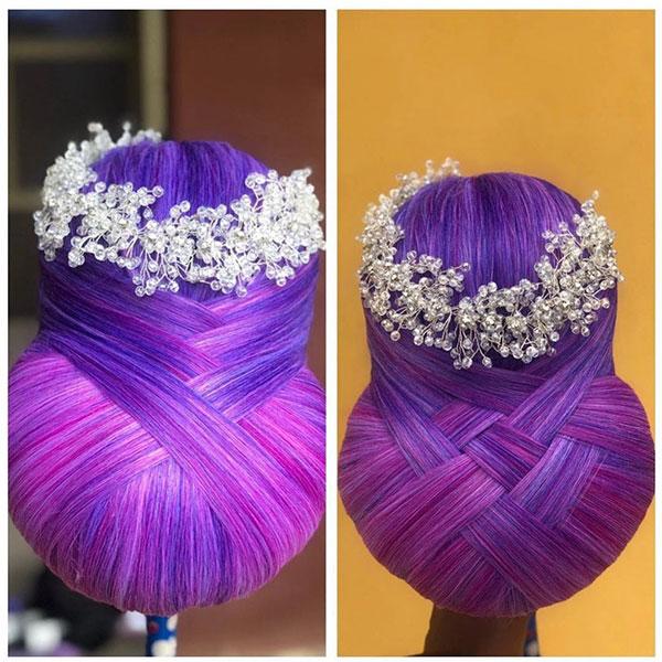 Long Hair And Bridal Hairstyle
