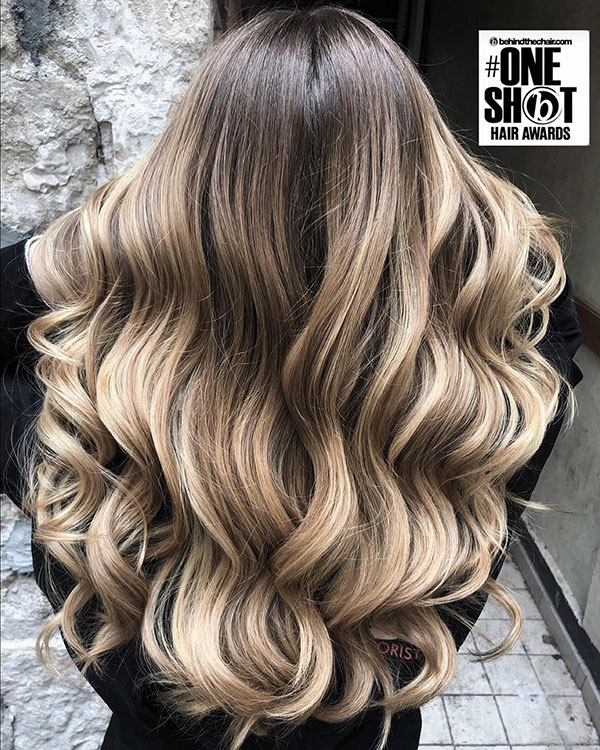 Long Balayage Hair