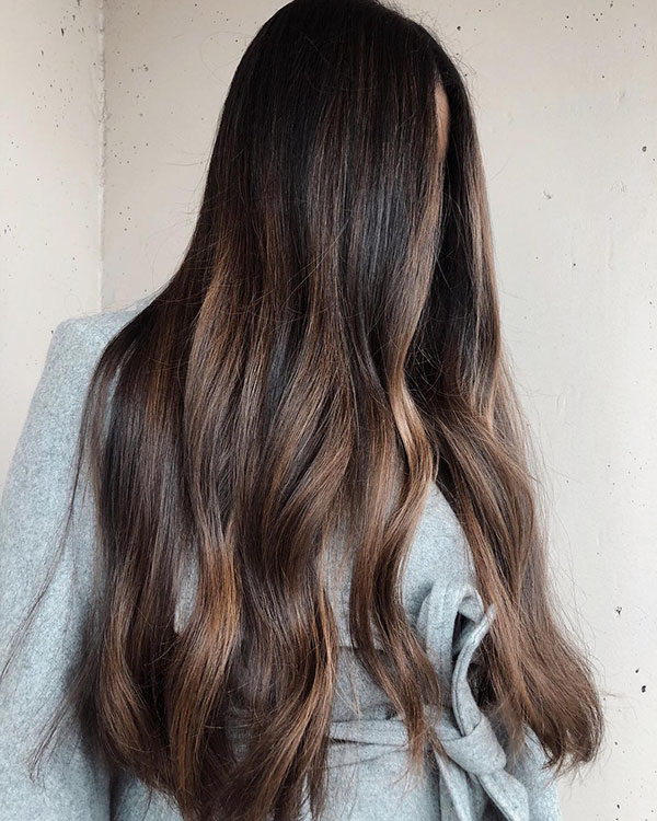 Long Brown Hairstyles