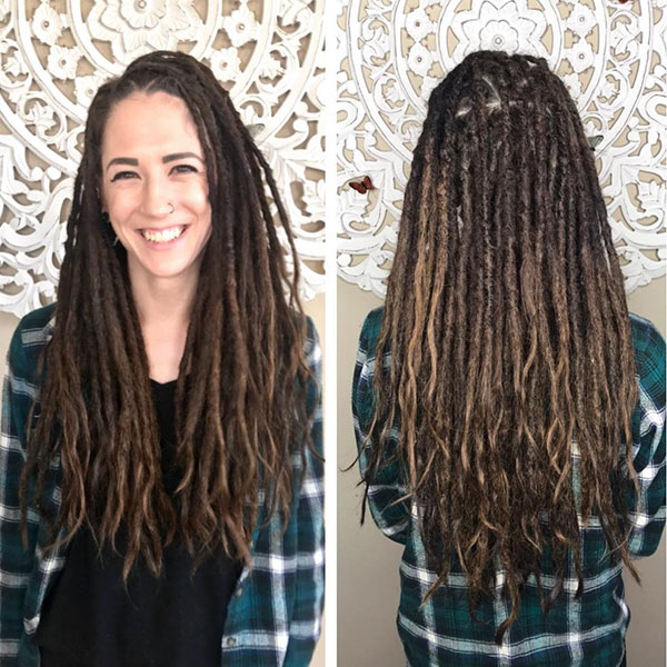 Long Dreadlocks Hairstyles 2021