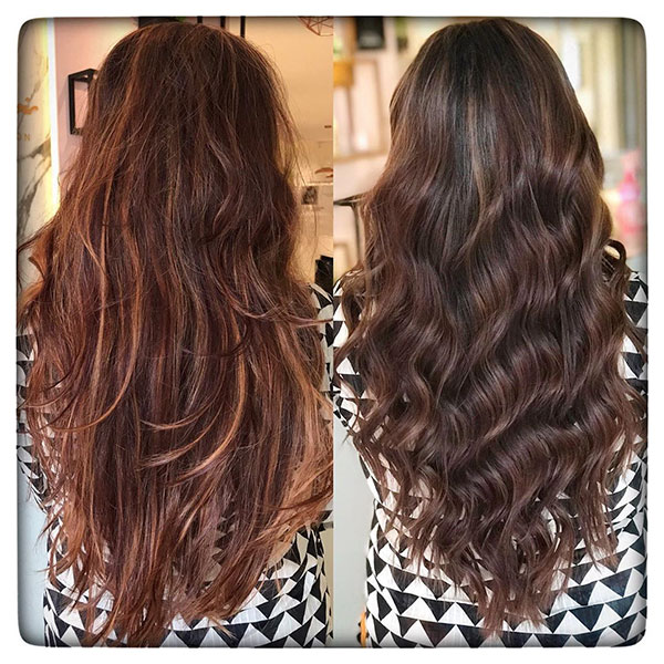 Long Hairstyles With Lowlights