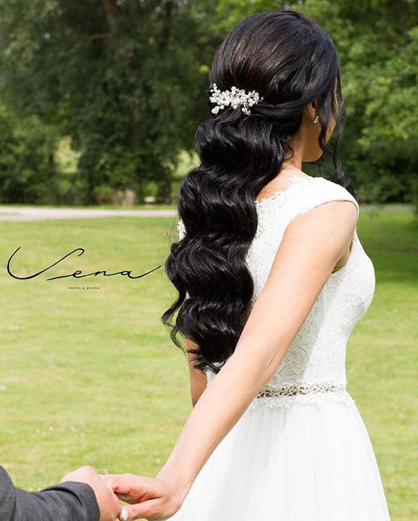 Bridal Hair For Long Hair