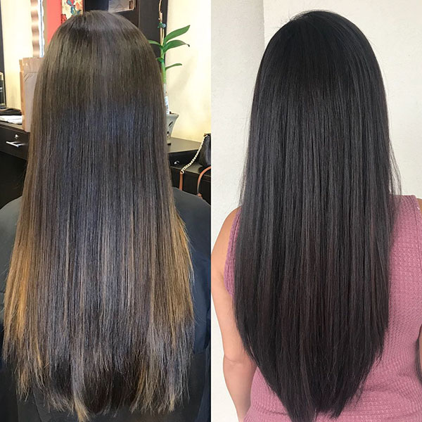 Long Straight Hair Ideas