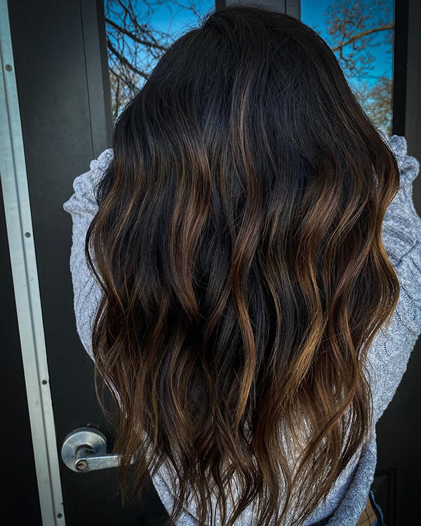 Long Brown Hair Color