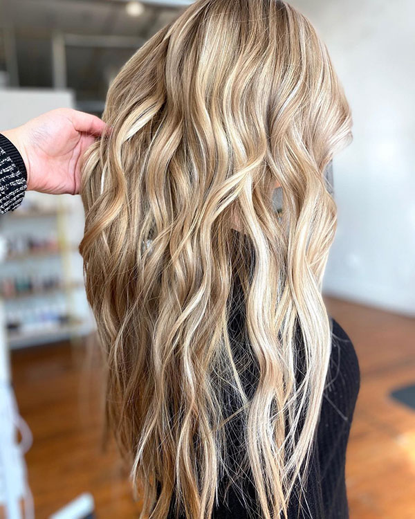 Pretty Long Hair Ideas
