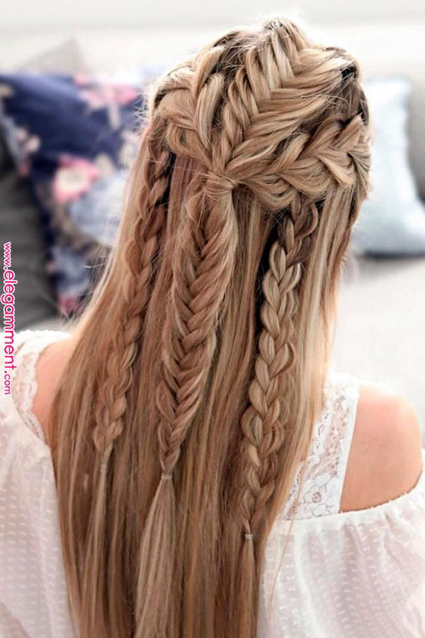 Long Half Up Hairstyles