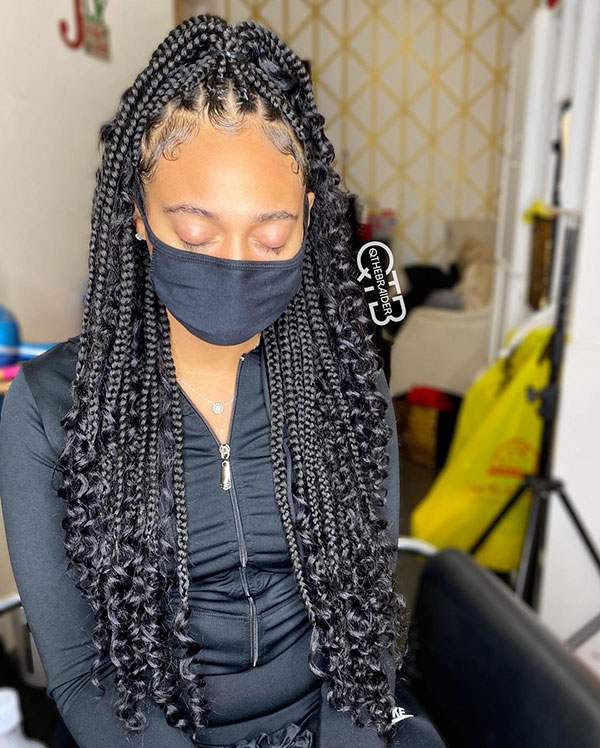 Braids For Black Women With Long Hair