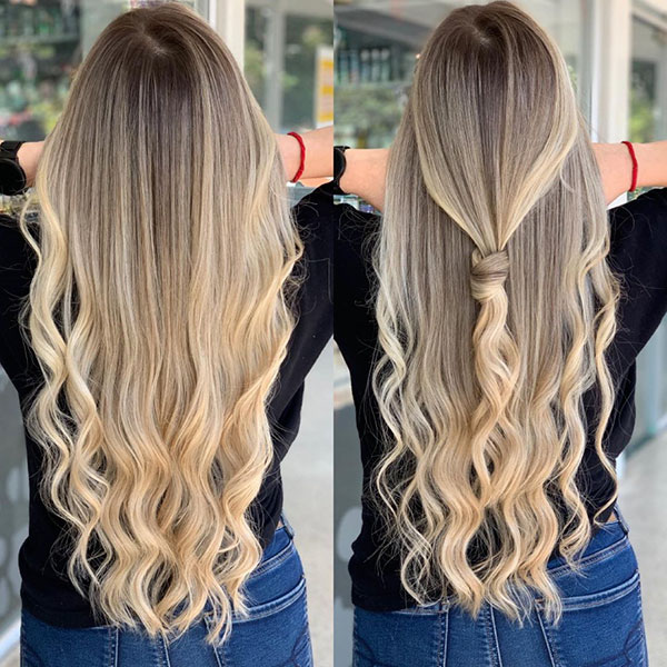 Balayage Long Hairstyles