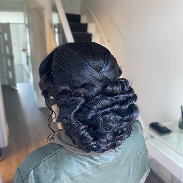 Bridal Hairstyle Pictures For Long Hair