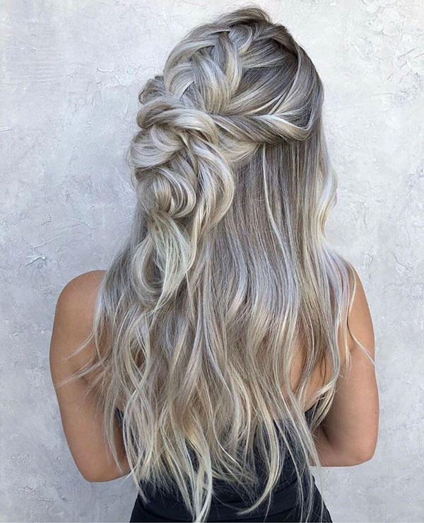 Long Half Up Hair Styles
